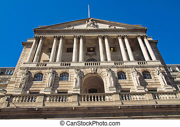 Bank of England - The historical building of the Bank of...