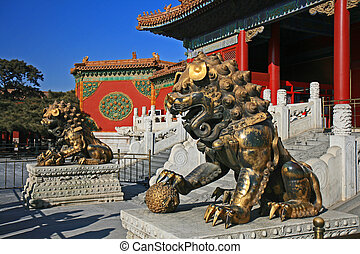 The historical Forbidden City in Beijing - The historical...