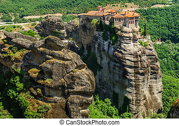 The holly monastery of Varlaam, Meteora, Greece - The holly ...