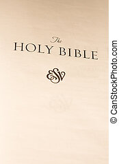 The holy bible first page