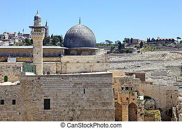 The holy city Jerusalem, Israel