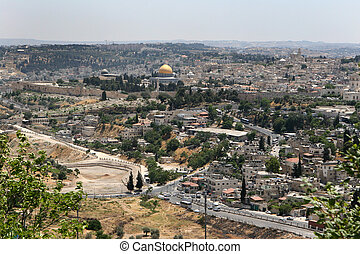 Jerusalem, Israel - The Holy City of Jerusalem, Israel, is...