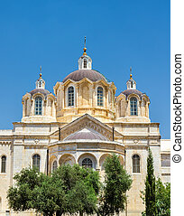 Holy Trinity church in the Russian Compound of Jerusalem