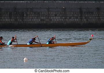 the Hong Kong Dragon Boat Championships
