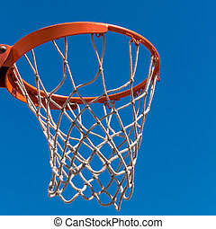 The hoop basketball