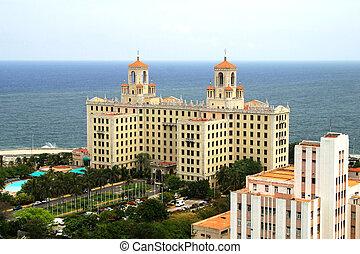 The Hotel Nacional de Cuba is an historic luxury hotel located on the Malecon in Havana, Cuba
