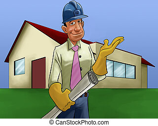 the house and engineer