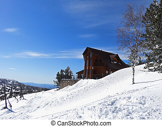 The house in mountains