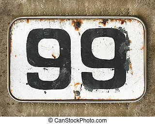 the house number 99