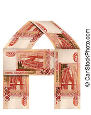 The house of Russian banknotes