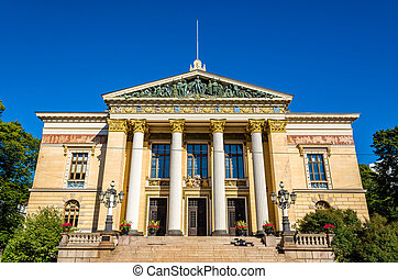 The House of the Estates, a historical building in Helsinki, Finland