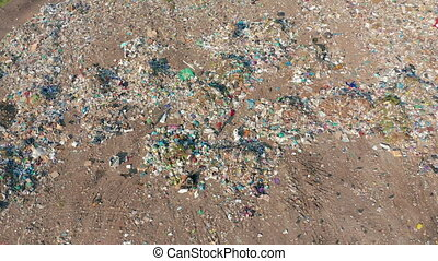 The huge garbage dump, the ecological disaster of our...