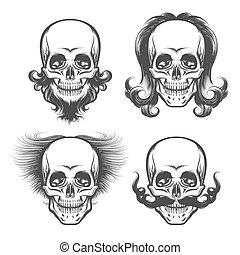 The Human Skulls Set
