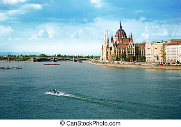 The Hungarian parliament, Budapest - The Hungarian...