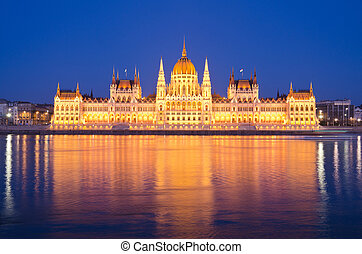 The Hungarian Parliament