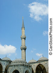 The iconic Blue Mosque of Istanbul City