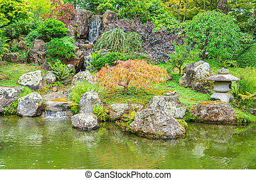 The iconic Japanese Tea Garden in Golden Gate park, San ...