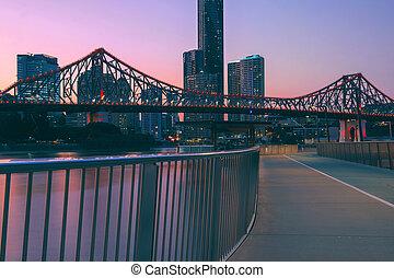 Story Bridge in Brisbane