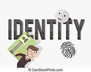 the identity of a businessmen