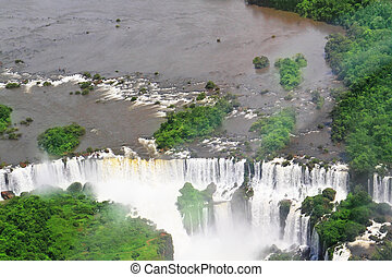 The Iguazu Falls in Argentina