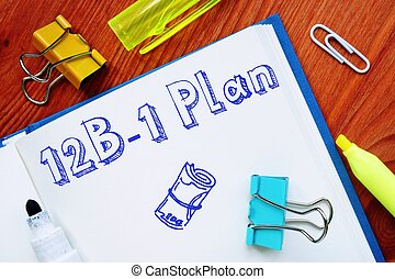 The image contains the inscription 12B-1 Plan on a notepad sheet.