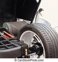 car disk repair machine