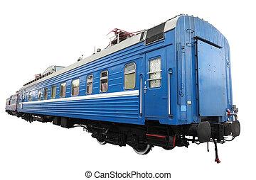 passenger train car