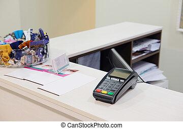 plastic card reader
