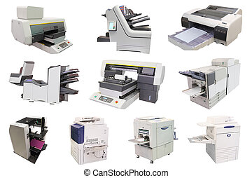 professional printing machine - The image of a professional...
