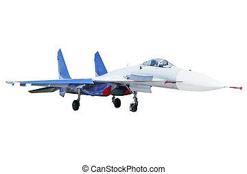 The image of a pursuit plane
