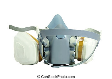 respiratory mask - The image of a respiratory mask