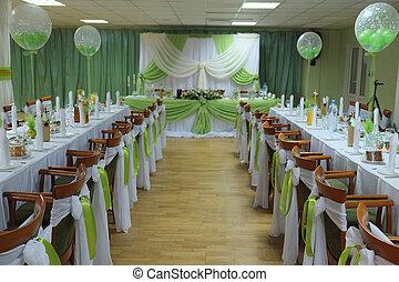 an Interior of a restaurant