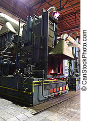 furnace - The image of big furnace in the heavy engineering...