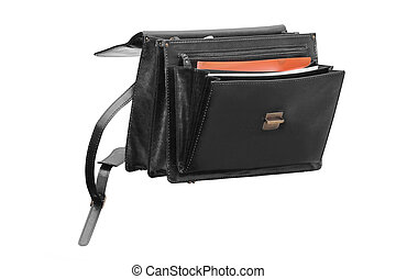 The image of briefcase under white background