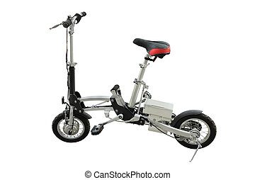 electric folding bicycle - The image of electric folding...