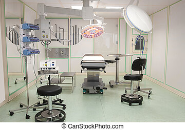 empty operation room - The image of empty operation room