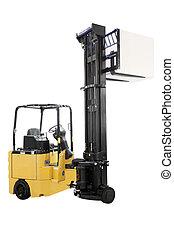 loader - The image of loader under the white background