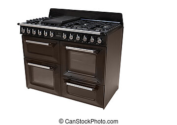 modern stove - The image of modern stove under the white...