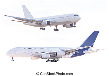 plane - The image of plane under the white background
