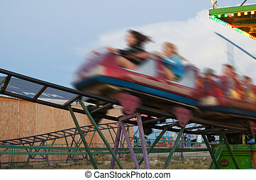 roller coaster - The image of roller coaster