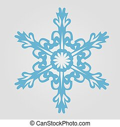 The image of snowflakes on a gray background.