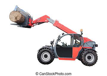 tree-felling machine