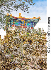 The Imperial Garden of The Palace Museum, Forbidden City, Beijing, China