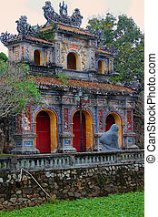 The Imprerial palace complex in Hue - The east entrance of ...