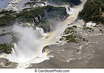"The impressive place Iguazu Falls - ""Devil's Throat"" most..."