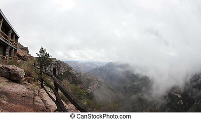 the incredible copper canyon (Barrancas del Cobre), northern...