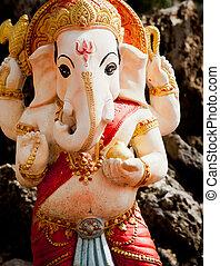 The Indian God Ganesha