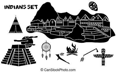 the indians set