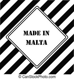 Made in Malta - The industrial symbol is Made in Malta