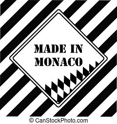 Made in Monaco - The industrial symbol is Made in Monaco